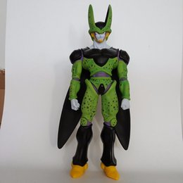 dragon ball cell 2018 - Dragon Ball Z Cell Action Figures 480Mm Pvc Model Toy Anime Dragon Ball Super Perfect Cell Huge Size discount dragon bal