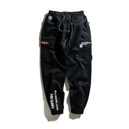 Toptan satış Kamuflaj erkek Kargo Pantolon Tam Boy 2019 Bahar Multy Camo Hip Hop Pantolon Erkekler Kadınlar Streetwear Toursers Erkekler 2 Renkler