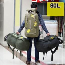 $enCountryForm.capitalKeyWord Canada - Outdoor Mountaineering Bag Duffel Bags Sport Backpack Waterproof Cover Travelling Bag Backpack Multifunctional Large-capacity Backpack 90L