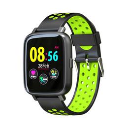 SN12 смарт-часы IP68 Водонепроницаемый монитор сердечного ритма кровяное давление Bluetooth Smartwatch Мужчины Женщины Спорт фитнес красочные экран часы Наручные