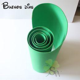 Wholesale dark green sheets for sale – custom 3mm thickness dark green A Grade Environmental Eva foam sheets Punch foam children school Handmade cosplay material Size cm cm