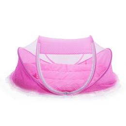 4шт сладкий портативный тип удобные младенцы запечатаны москитная сетка матрас подушка сетка сумка детская кровать