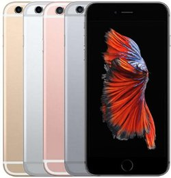 Discount unlock iphone wifi Original Unlocked Apple iPhone 6S Plus Support fingerprint 5.5''12.0MP 2G RAM 16 32 64 128G ROM 4G LTE Dual Co