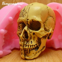 Mold free candle online shopping - Skeleton Cake Mold Silicone Mold Chocolate Gypsum Candle Soap Candy Mold Kitchen Bake