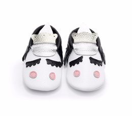 $enCountryForm.capitalKeyWord Canada - factory wholesale cutoms genuine leather cute baby boy and girls party moccasins Blush Unicorn Baby shoes hot sell soft sole