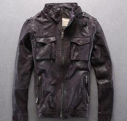 c90d6d6f1 Avirex leAther jAckets online shopping - 3 colours AVIREX FLY genuine leather  jackets Flocking sheepskin jackets