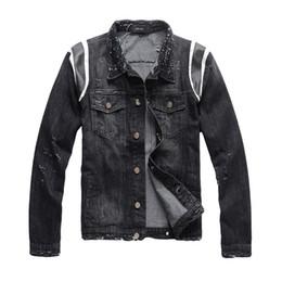 top jeans brands 2019 - New arrival Mens brand Jeans Jacket Streets Denim Coat top quality fashion Slim casual High Street Male Jean Coat denim