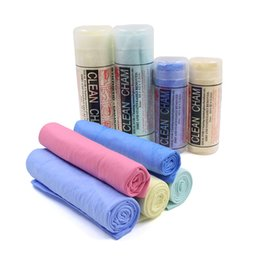 Furniture packs online shopping - Imitation Chamois Towel Absorbent Dry Towel Cleaning Car Towel Drying Wipe Cloth Pack of Color Random