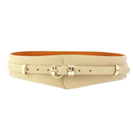$enCountryForm.capitalKeyWord NZ - Fashion Women Belt PU Leather Wide Belts Decoration PAPER TAPES Shirts Dress Belt Seasons girdle Womens Apparel Accessories
