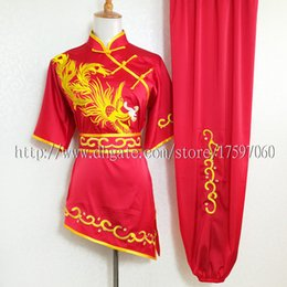 $enCountryForm.capitalKeyWord Australia - Chinese Wushu uniform Kungfu clothes Martial arts suit taolu outfit Routine kimono Traditional embroidery for men women boy girl kids adults