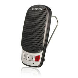 Discount bluetooth visor clip - bluetooth handsfree car kit for universal smartphone speaker + sun visor clip