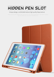 $enCountryForm.capitalKeyWord Canada - Case for iPad Pro 10.5 Smart Cover PU Leather Magnetic Foldable Tablet Cases Cover with Pencil Pen Slot Stand for Apple iPad Pro 10.5 inch