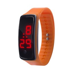 Children Kids Soft Silicone Wristband Trendy Sport Running Time Display Wrist Bracelet For Dropshipping Hot Sale High Quality And Inexpensive Watches