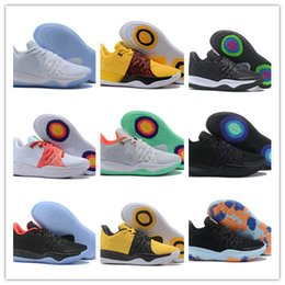 basketball sneakers popular Canada - 2018 New Popular Basketball Shoes Kyire Low Zoom Mens Fashion Running Shoes Grey Green Yellow luxury Kyire 4S Sport Sneakers SIZE 40-46