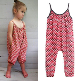 Girls floral jumpsuit suspender trousers online shopping - New Girls Overalls Kids One piece Floral Playsuit Jumpsuits Children Suspender Outfit Girls Harem Pant Trousers Clothes