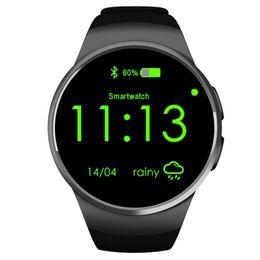 $enCountryForm.capitalKeyWord UK - Anti-lost Android ios Sport Smart silicone Digital Wrist wach Camera Pedometer Bluetooth GPS Smartwatch Heart Rate Monitor phone