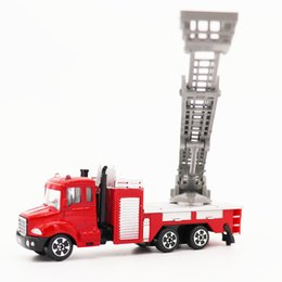 Beautiful 1 Pcs Water Tanker Model Toy Resilience Car Back Fire Truck Educational Toys For Childrens Kids Pretend Play Diecasts & Toy Vehicles