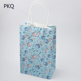 3c54446b155 Small Paper Gift Bags Handles UK - 5.25 20pcs Small Gift Bag with Handles  Wedding Decoration