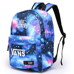 Discount space backpacks - Fashion Backpack Galaxy Stars Universe Space Backpack Rucksack School Backpacks Outdoor Bag Travel bag 4 Colors DHL Ship