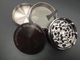 $enCountryForm.capitalKeyWord NZ - DHL free shipping 63mm CNC metal chromium crusher grinder tobacco grinder herb smoking dry herb grinders cheap wholesale