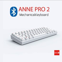 Anne Pro 2 60% Wireless Bluetooth 4.0 Type-C RGB Backlit Gateron MX Switches Mini Portable Office Mechanical Gaming Keyboard from black turkeys suppliers