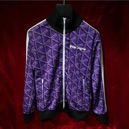 $enCountryForm.capitalKeyWord NZ - Palm Angels Jacket 18 New Streetwear Triangular Print Palm Angels Striped Jackets Purple Black Casaul Joggers Palm Angels Jacket