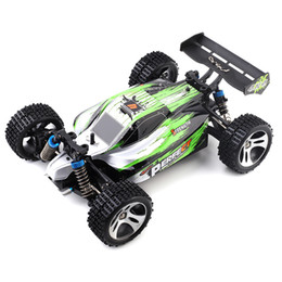 Discount electric road cars - New Wltoys A959 -A 1 :18 4wd Rc Off -Road Car Rtr 35km  H 2 .4ghz 2ch Rc Car Splashproof With All Terrain Tires Shock Ab