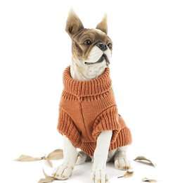 $enCountryForm.capitalKeyWord UK - Cute Halloween Pumpkin knitted sweater, puppy dog, big dog, thickened dog clothing.