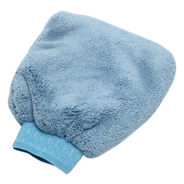 Soft care online shopping - Soft Washing Gloves Car Washer Water Absorption Auto Care Artificial Wool Car Cleaning Tools Car styling Microfiber Car Wash