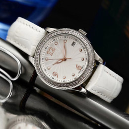 54cae4d9a48 Low Price Sale Rol Quartz Movement Watch Women 32mm Cillini White Dial  Leather Band Female Watch Montre Homme