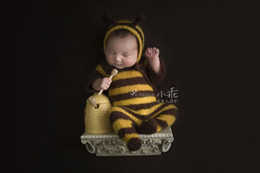 Newborn bee mohair outfits photography props 3e20aa7c924f
