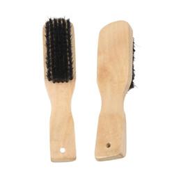 1266a4917 Escova de cabo longo Escova de cerdas macias escovas de madeira maciça  Material de limpeza durável polimento produtos de couro à prova de umidade  ...