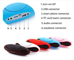 Discount usb spdif - Wireless Bluetooth stereo speaker Rugby with FM radio & double loudspeakers Rugby speakers for IPhone Ipad samsung Galax