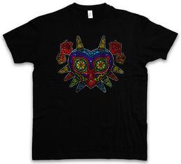 zelda mask 2019 - MEXICAN MAJORA'S MASK T-SHIRT Majora Horror Kid Zelda Game Mexico Funny free shipping Unisex Casual discount zelda