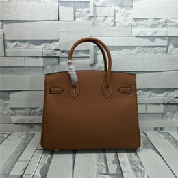 Leather piLLow factory online shopping - 2019 ladies handbags all leather bags durable top quality X22X16 cm wide good packaging factory price
