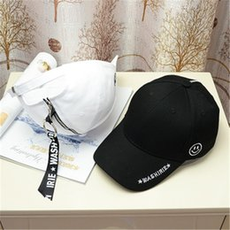67210b97540 Spring Summer New Fashion Wild Baseball Cap Hipster Retro Black Long Strap  Hat Neutral for Men Women Unisex