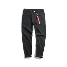 Chinese  Autumn Winter New Product Original The Night Wind Pendant Man Jeans Korean Leisure Time Bound Feet Pants Male Nine Part Pants manufacturers