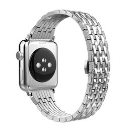 $enCountryForm.capitalKeyWord UK - luxury rhinestone diamond crystal bands stainless steel band replacement for Apple Watch series 4 40mm 44mm series 3 2 1 38mm 42mm