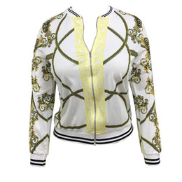 Wholesale Autumn New Style Digital Positioning Printing Jacket Women s Fashion Thin Section Self Cultivation Type Jacket