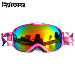 $enCountryForm.capitalKeyWord Australia - EYTOCOR UV400 Windproof Children Skiing Snow Goggles Boys Girls Ski Glasses Snow Goggles Eyewear Kids Skate Skiing Child