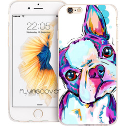 $enCountryForm.capitalKeyWord NZ - Coque Boston Terrier Dog Clear Soft TPU Silicone Phone Cover for iPhone X 7 8 Plus 5S 5 SE 6 6S Plus 5C 4S 4 iPod Touch 6 5 Cases.