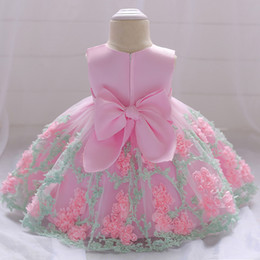 Chiffon pleat flower girl dresses online shopping - Flower Toddler Baby Girl Infant Princess Dress Baby Girl Wedding Dress Lace Tutu Kids Party Vestidos for Years birthday