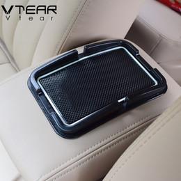 Silicone Phone Holder For Car Canada - For Hyundai Solaris anti-slip mat car interior dashboard Phone GPS Holder pad silicone car-styling decoration accessory