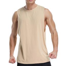$enCountryForm.capitalKeyWord Australia - Mens Gym Vest Fitness Clothing Bodybuilding Workout Tank Vest for Men Running Gyms Casual Sleeveless Tops