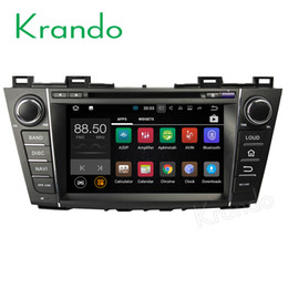 """Chinese  Krando 8"""" Android 7.1 car dvd navigation multimedia system for Mazda 5 For Premacy 2009-2013 audio radio gps dvd palyer WIFI 3G DAB+ manufacturers"""