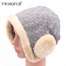 Warm Male Beanies NZ - Winter Women Beanie Caps With Thick Warm Lining Fashion Ear Protection Ladies Hat Casual Female Male Caps New Arrival YWMQFUR