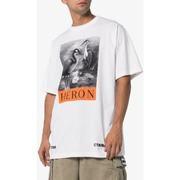 13a8d7eddae2 2018 New York Fashion High Quality Chinese Style Heron Preston Bird Men  Women Street Luxury Cotton Casual Summer Short Sleeved T-Shirt