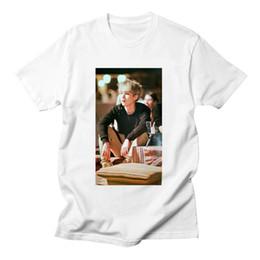Pop Tees Australia - BTS Summer BTS K-pop T Shirt Printed Short Sleeve T-shirt Fashion Hip Hop Top Tee Plus Size T-shirt Funny T Shirt Femme Womens