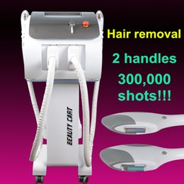 Ipl Hair Skin Australia - OPT SHR IPL Elight permanently hair removal machine IPL Hair Removal Skin Treatment Pigment Acne Therapy Beauty Equipment