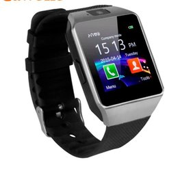 huawei smartwatch bluetooth NZ - Bluetooth Smart Watch Smartwatch DZ09 Android Phone Call Relogio 2G GSM SIM TF Card Camera for iPhone Samsung HUAWEI PK GT08 A1
